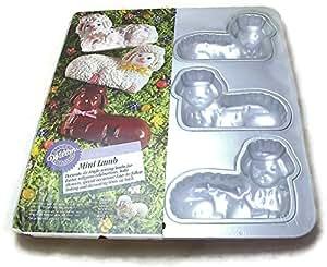 mini lamb cake pan novelty cake pans kitchen dining