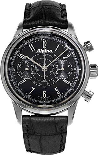 Alpina-130-Mens-AL-860G4H6-Heritage-Pilot-Chronograph-Black-Watch