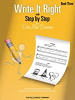 Write It Right, Book 3: With Step by Step