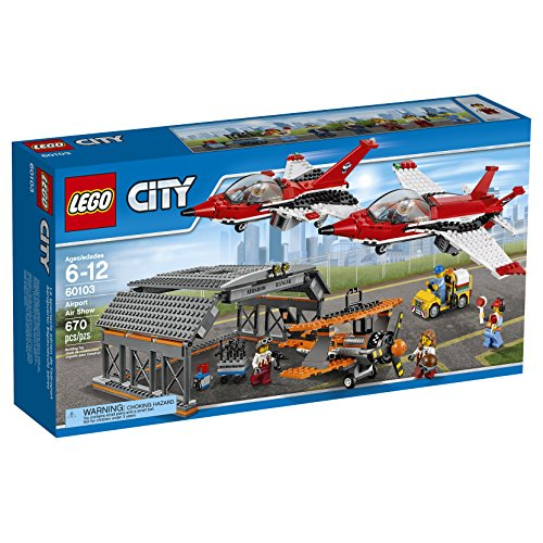 LEGO-City-Airport-60103-Airport-Air-Show-Building-Kit-670-Piece
