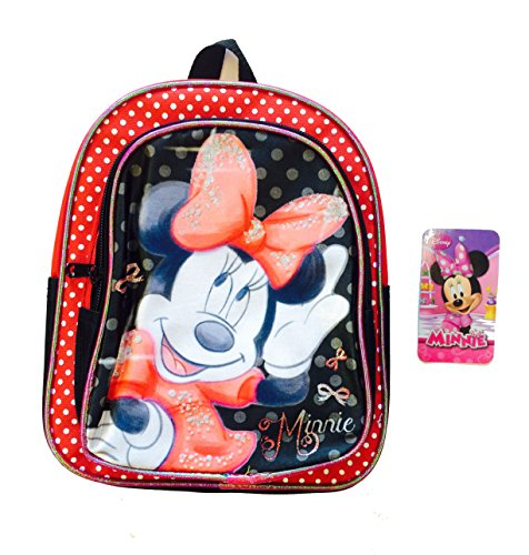 "Disney Minnie Mouse ""Red Bow"" Mini Backpack - 1"