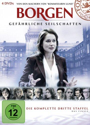 Borgen - Gefährliche Seilschaften, Die komplette dritte Staffel [4 DVDs]