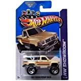 2013 Hot Wheels Hw Showroom - 1987 Toyota Pickup Truck - Tan