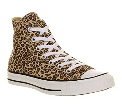 Converse Unisex-Adult Chuck Taylor All Star Core Hi Trainers Leopard 10 UK