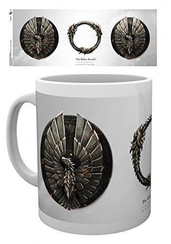 Set: The Elder Scrolls Online, Aldmeri Tazza Da Caffè Mug (9x8 cm) E 1 Sticker Sorpresa 1art1®