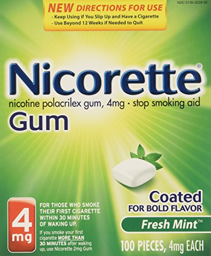 nicorette-nicotine-gum-stop-smoking-aid-fresh-mint-4-milligram-200-count