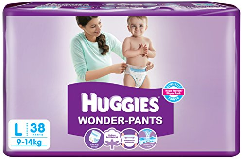 Huggies Wonder Pants Large Size Diapers (38 Count)
