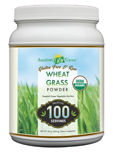 Amazing Grass Organic Wheat Grass 100 Servings