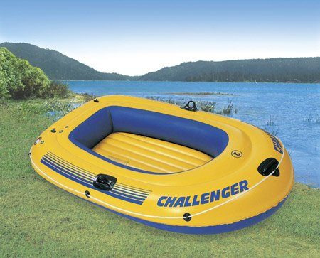 Image of Inflatable Intex Challenger 200 Fishing Boat (B00529BE54)