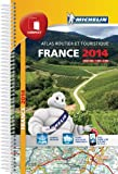 Atlas Routier France 2014 Michelin Compact Spirale