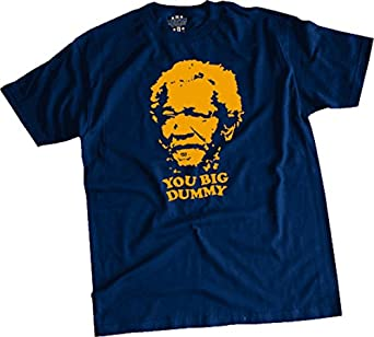 "Sanford and Son ""You big Dummy"" T-shirt Blue [Apparel] Size: X-Large"