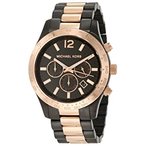 Michael Kors Men's MK8189 Two-Tone Stainless-Steel Quartz Watch with Grey Dial