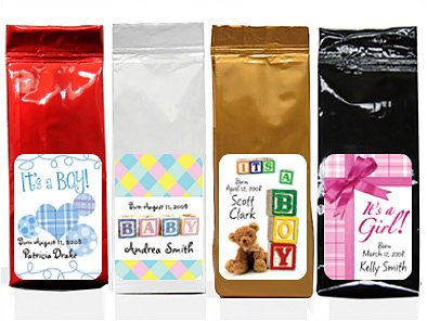 Coffee Baby Shower Favors back-509496