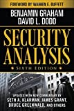 img - for Security Analysis: Sixth Edition, Foreword by Warren Buffett (Security Analysis Prior Editions) book / textbook / text book