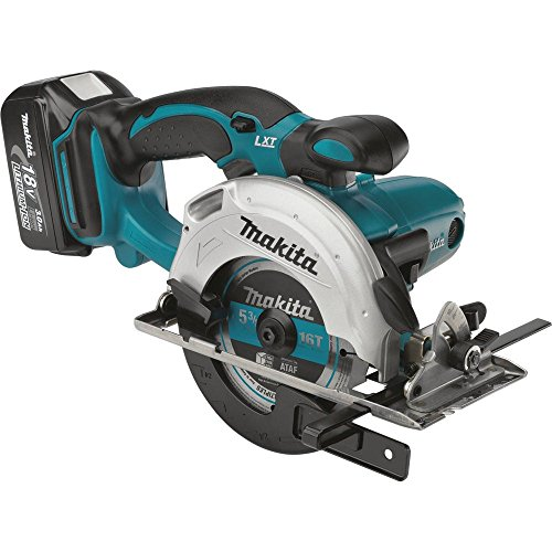 Makita XSS03 18V LXT Lithium-Ion Cordless 5-3/8-Inch Circular Trim Saw Kit