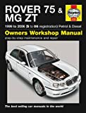 Rover 75 Repair Manual Haynes Manual Service Manual Workshop Manual 1999-2006
