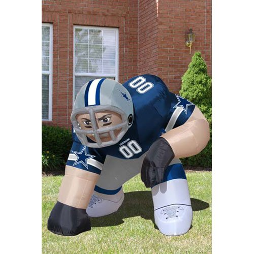 "BSS - Dallas Cowboys NFL Inflatable Bubba"" Player Lawn Figure (60"" Tall)"" at Amazon.com"
