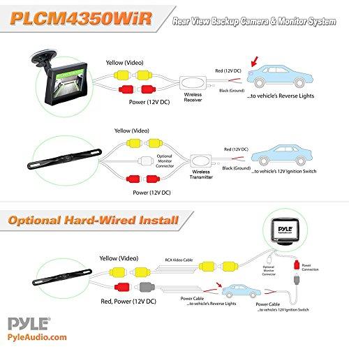 pyle marine radio wiring diagram pyle view pldnv78i wiring diagram pyle plcm4350wir vehicle wireless rearview-plcm4350wir ...