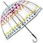 Totes Manual Open Bubble Umbrella, Cl...