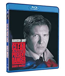 Clear and Present Danger / Danger immédiat (Bilingual) [Blu-ray]