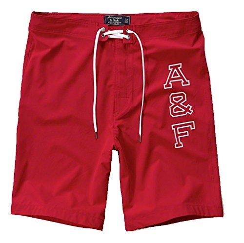 abercrombie-fitch-pantaloncini-uomo-multicolore-rosso