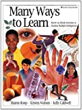 img - for Many Ways to Learn: Month-by-Month Activities to Develop Multiple Intelligences, Grades K-2 book / textbook / text book