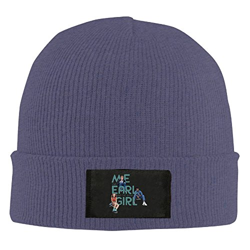 Amone Me And Earl Winter Knitting Wool Warm Hat Navy