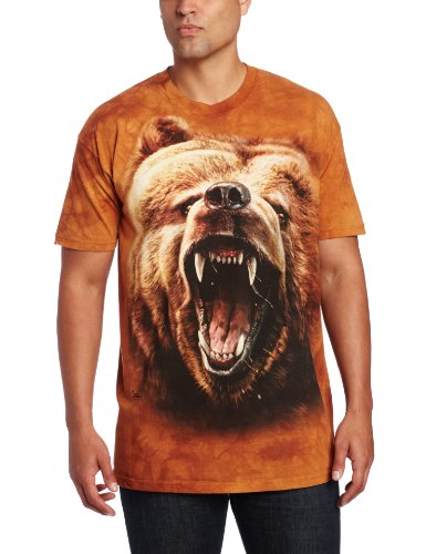 The Mountain Men'S Grizzly Growl, Brown, Small front-297644