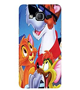 Evaluze cartoon Printed Back Cover for SAMSUNG GALAXY ON5 2015