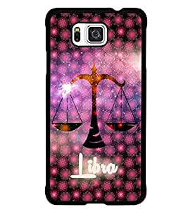 PrintDhaba Zodiac Libra D-3239 Back Case Cover for SAMSUNG GALAXY ALPHA (Multi-Coloured)