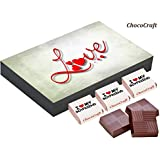 Best Gift - 12 Chocolate Gift Box - Gift For Boyfriend