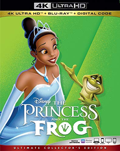 4K Blu-ray : Princess & The Frog (2 Discos)