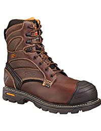 "Thorogood Men's 8"" Plain Toe Waterproof/Insulated Composite Safety Boot 804-4459"