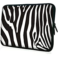 "Waterfly ' Hot Zebra Popular 14"" 14.1"" 14.4"" Inch Laptop Notebook Computer PC Sleeve Carrying Bag Case Pouch Protetor..."