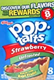 #4: Kelloggs Pop Tarts Strawberry unfrosted 416g