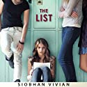 The List (       UNABRIDGED) by Siobhan Vivian Narrated by Allison McLemore