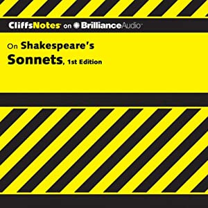 CliffsNotes: Shakespeare's Sonnets, 1st Edition | [James K. Lowers]