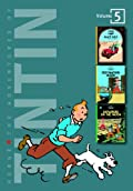 THE 3-IN-1 SERIES. THE ADVENTURES OF TINTIN: VOLUME 5
