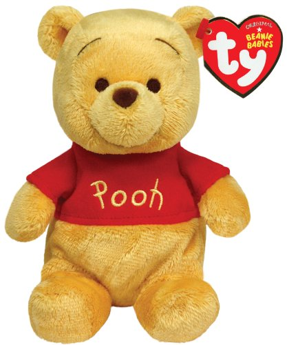 Ty Beanie Babies Winnie The Pooh Plush, Classic Bear - 1
