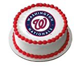 MLB Washington Nationals ~ Edible Cake Image Topper at Amazon.com
