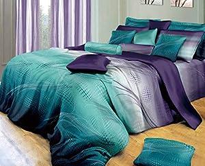 Twilight-P 3pc 100% Cotton Duvet Cover Set: Duvet Cover and Pillow Shams (King)