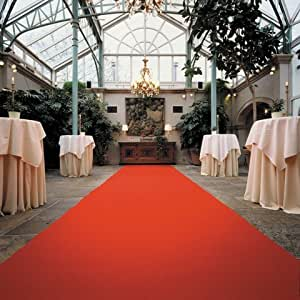 Roter Teppich - Hochzeitsteppich - VIP Teppich (4,50EUR/m²) - 1,00m breit