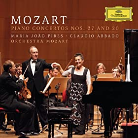 Mozart: Piano Concertos Nos.27 And 20 [+digital booklet]