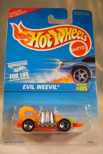 Hot Wheels Mattel 1985 Evil Weevil #485 1:64 Die Cast Collector Car