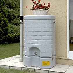 雨水貯留タンク 雨音くん タンク容量:200リットル 集水継手:ジェットライン専用 本体:みかげ色