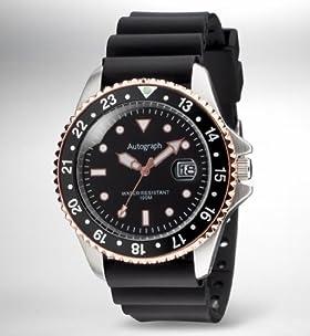 Autograph Water Resistant Diving Bezel Analogue Watch