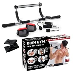 Iron Gym Total Body Fitness Kit Complete 4-Piece Kit