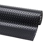 Rubber matting 1m x 1.2m x 3mm single diamond pattern