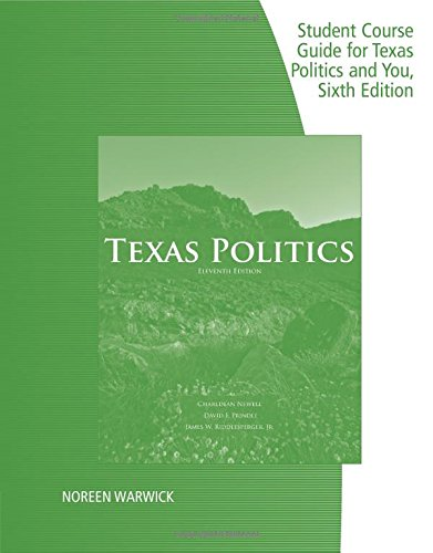 Student Guide for Texas Politics and You
