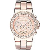 Michael Kors MK5412 41mm Stainless Steel Case Rose Gold Gold Plated Stainless Steel Mineral Women's Watch